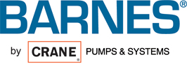 Barnes, a crane pumps and systems logo